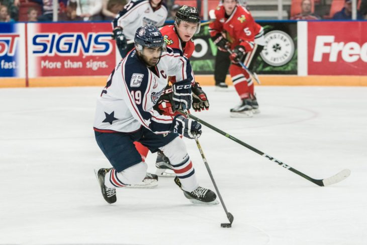Sandhu was the captain of the Americans in 2016-17