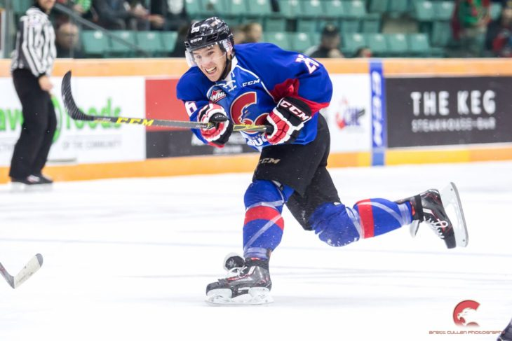 McDonald spent four season with the Cougars before moving to the Raiders in 2017-18.