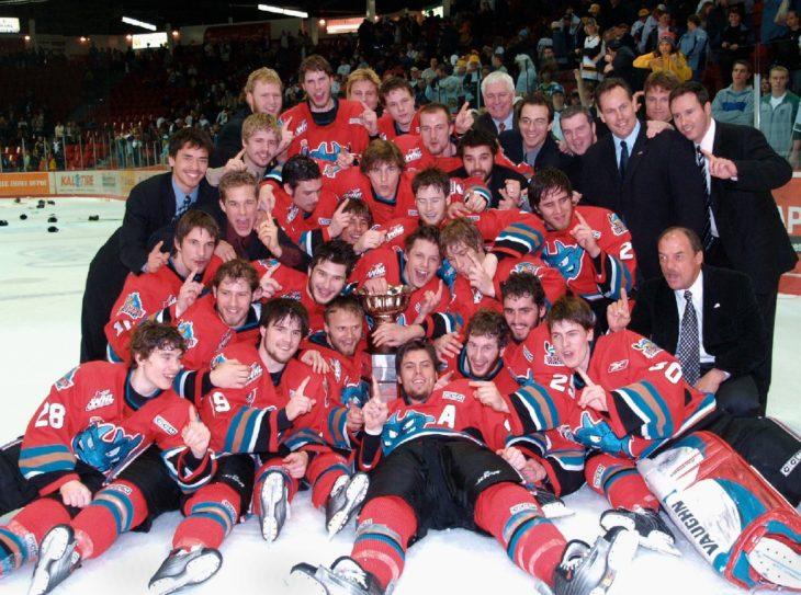 The Kelowna Rockets won the 2005 WHL Championship on Friday, May 13, 2005.