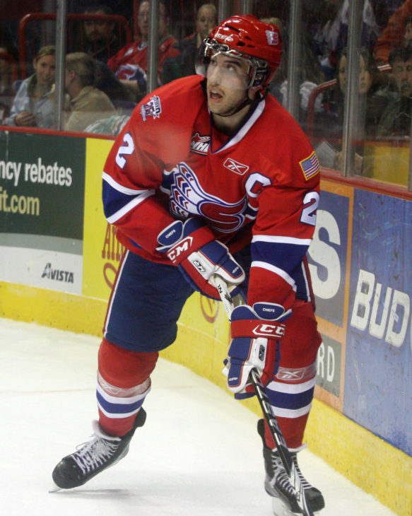 Former Spokane Chiefs captain Jared Cowen earned silver with Canada in 2010 and 2011.