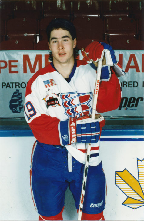 Pat Falloon won gold with Canada at the 1991 World Juniors in Saskatchewan.