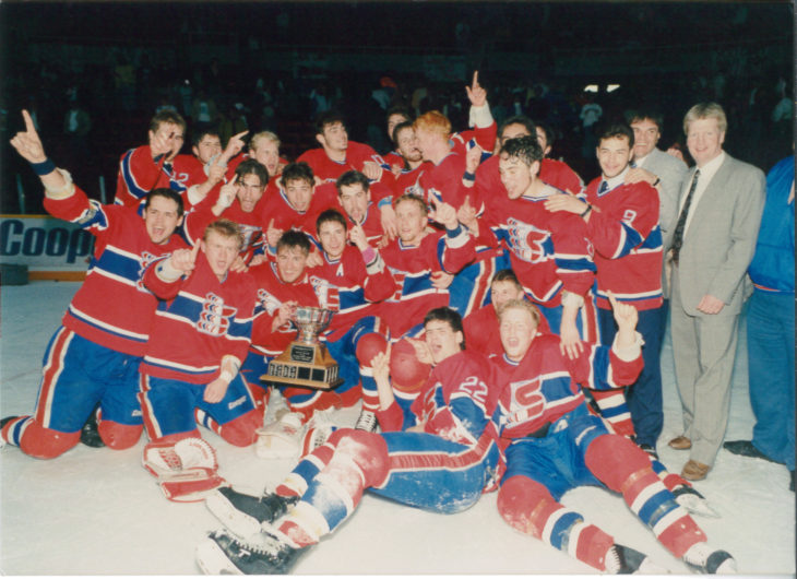 Trevor Kidd won a WHL Championship with the Spokane Chiefs in 1991.
