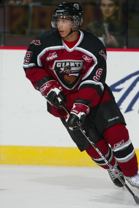 Evander Kane won a gold medal at the 2009 World Juniors in Ottawa, Ont.