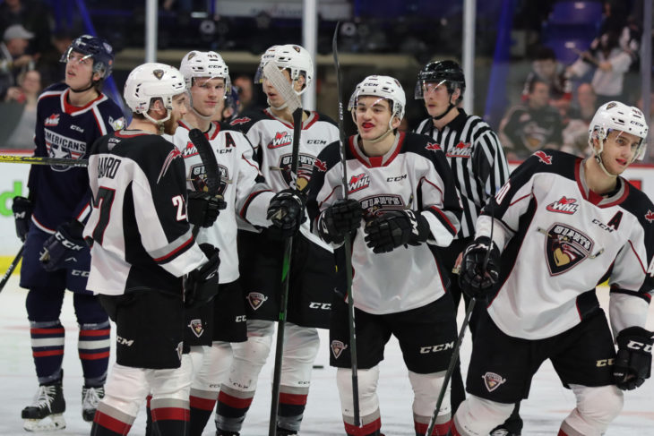 On Tuesday, the Vancouver Giants became the second team this season to score 12 goals in a game (Rob Wilton/Vancouver Giants)