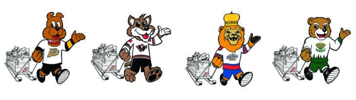 Mascots Walking 1